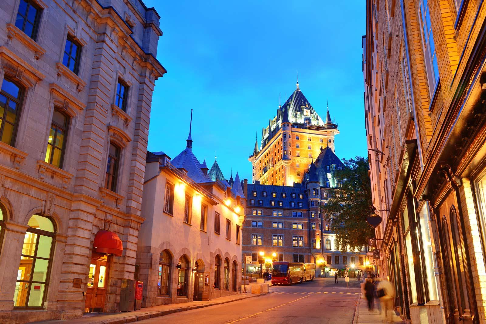 Quebec City is a UNESCO Site