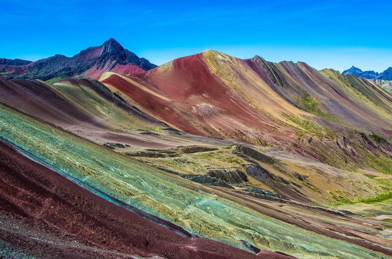 Перу радуга горный поход Радужная гора в Перу 10 вещей, которые стоит ожидать при походе по Радужной горе в Перу Rainbow Mountain Peru viewpoint