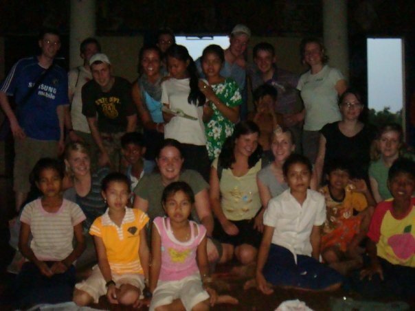 Cambodia-teaching-school