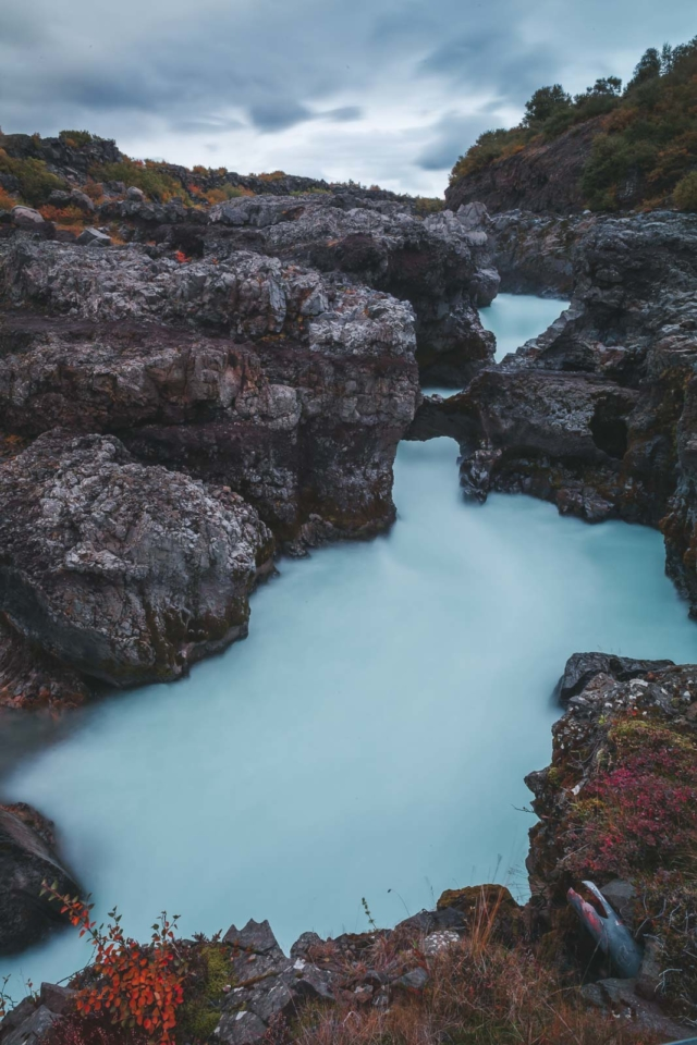 Barnafoss on Iceland Ring Road