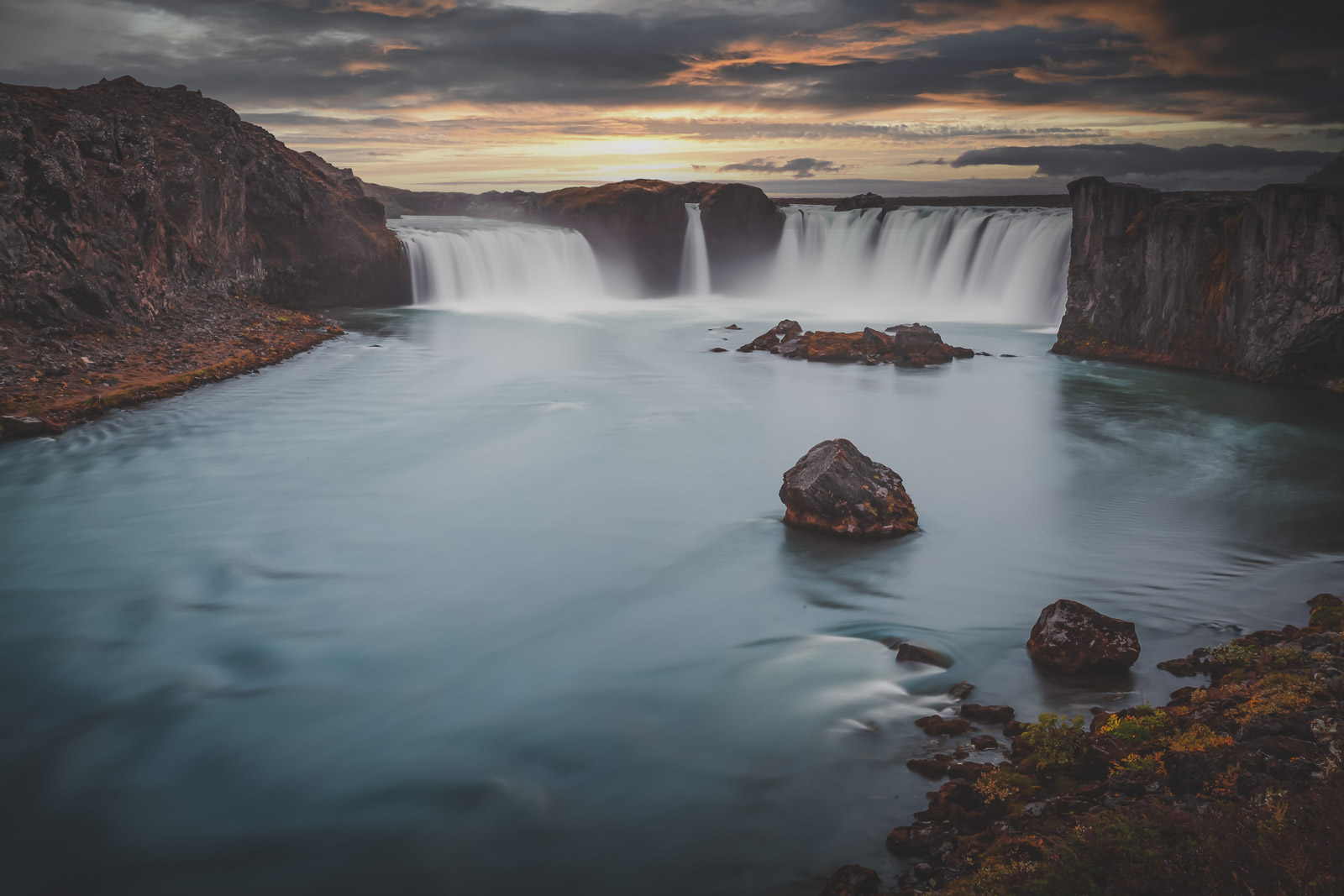 Godafoss on the Ring Road in Iceland