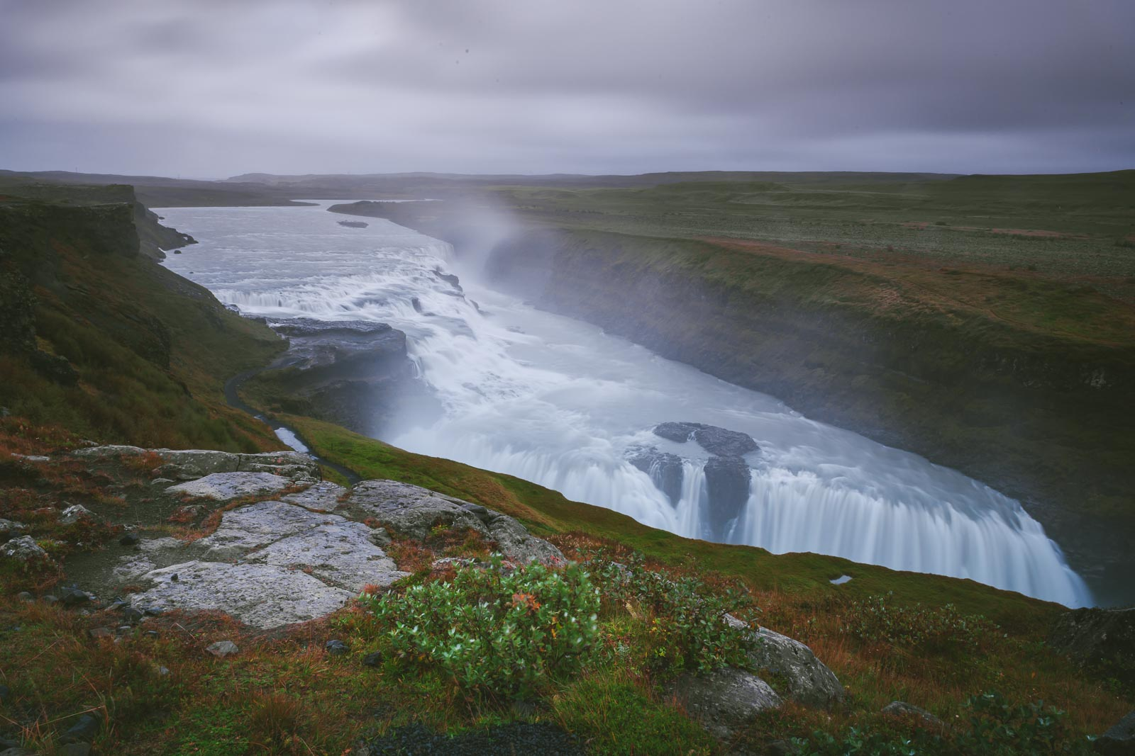 Gullfoss on your Iceland Road Trip
