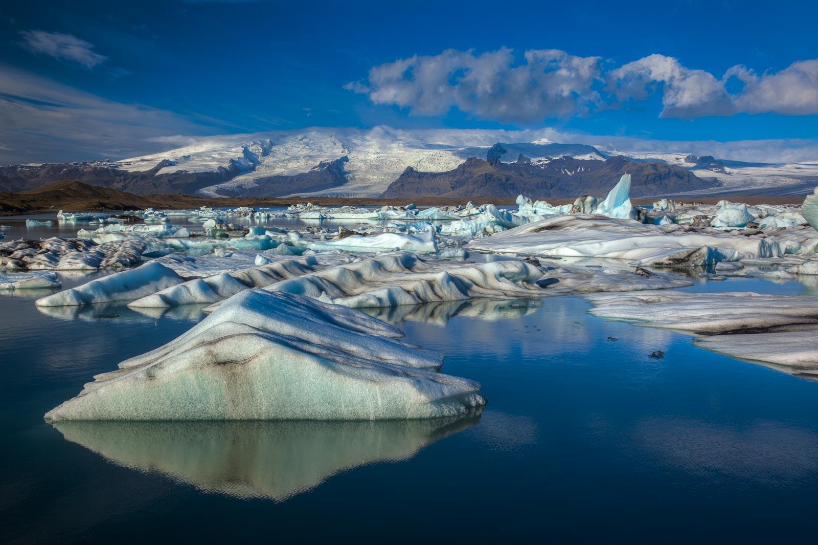 Icelands Jokulsarlon Glacial Lagoon