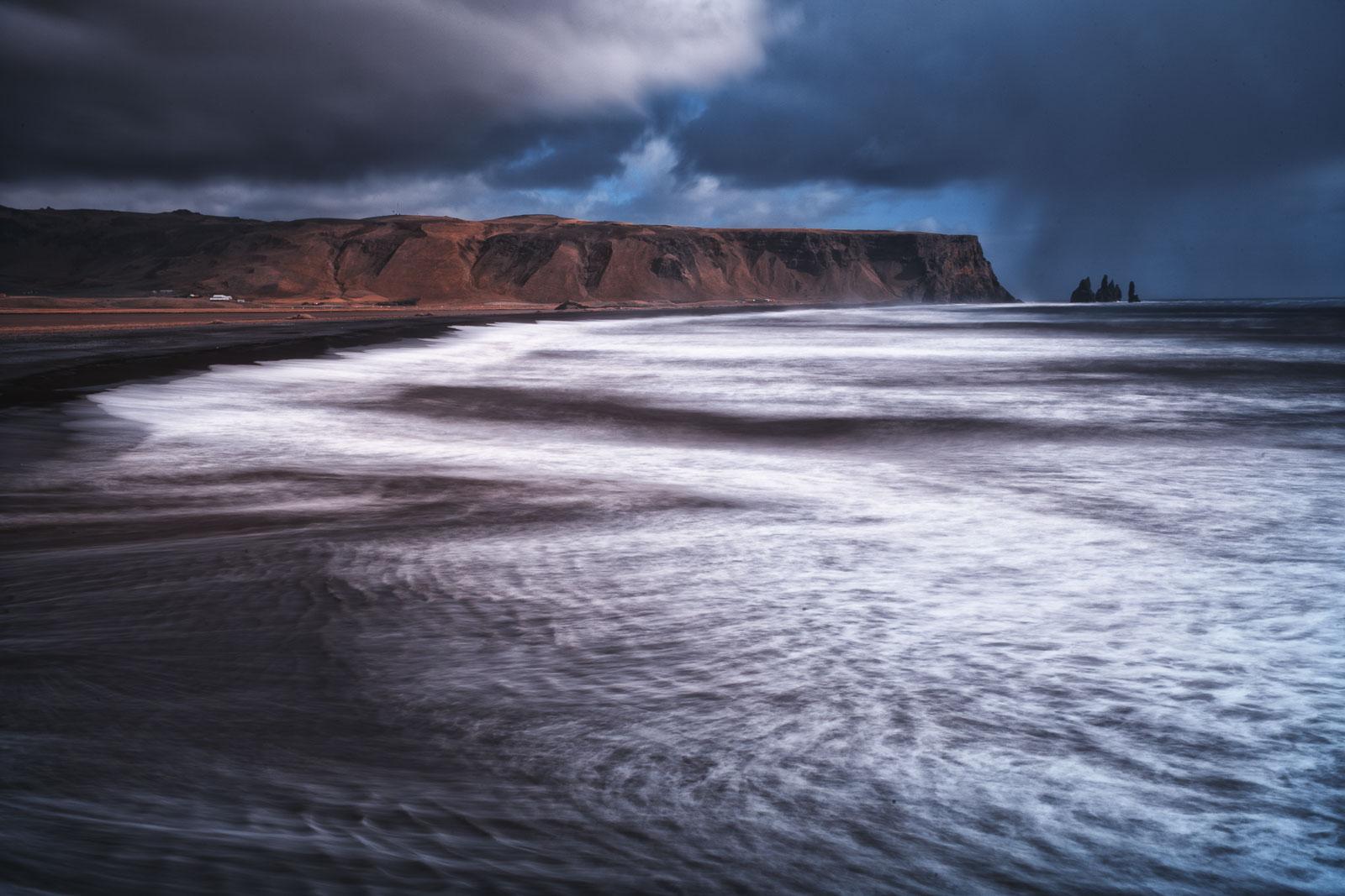 Reynisfjara Beach on the Ring Road in Iceland