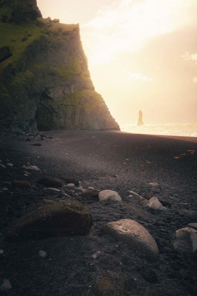 Vik Black Sand Beaches in Iceland