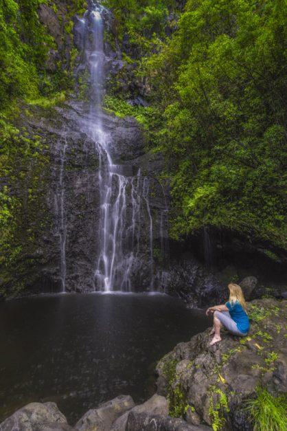 hana highway waterfalls