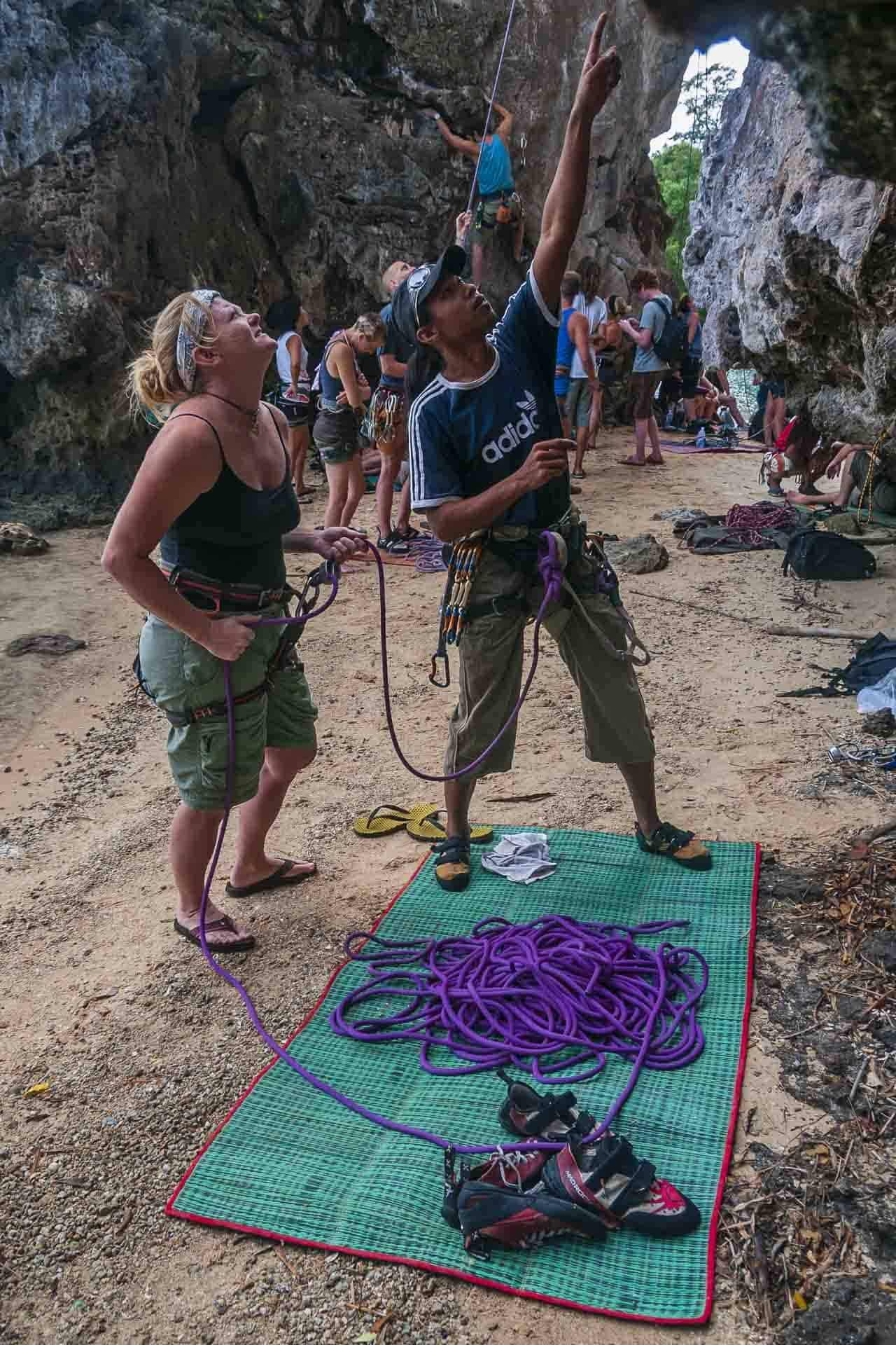 Things to do in Krabi Deb Rock Climbing