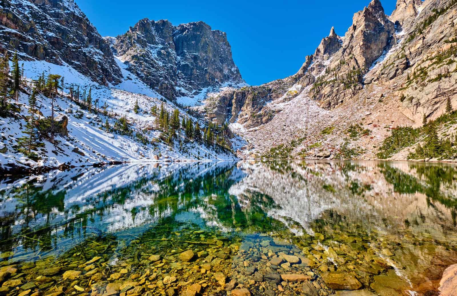 Emerald Lake Trail Rocky Mountain National Park