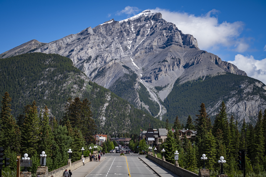 Downtown Banff, Alberta