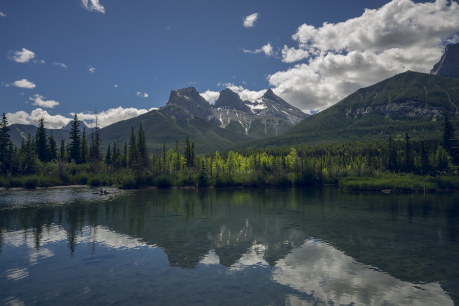 The Beautiful views of Banff Alberta