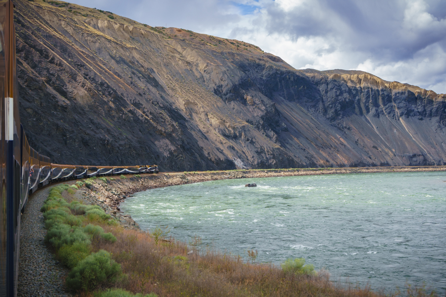 Day 1 views rocky mountaineer