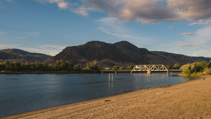 Overnight in Kamloops BC on the Rocky Mountaineer
