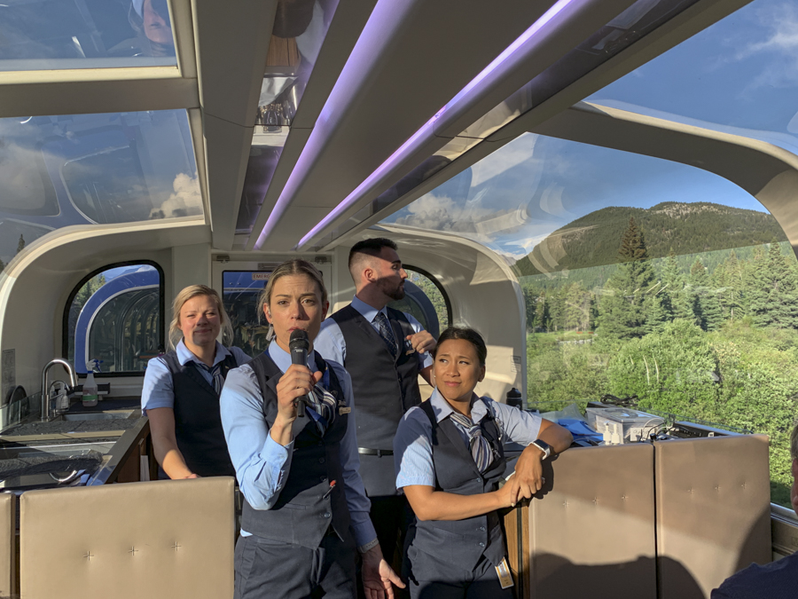 Rocky Mountaineer staff are amazing