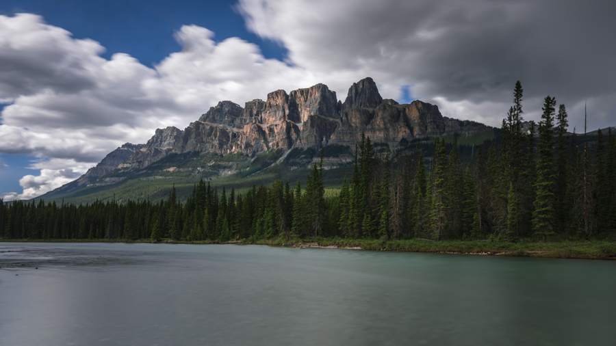 Castle mountain Banff