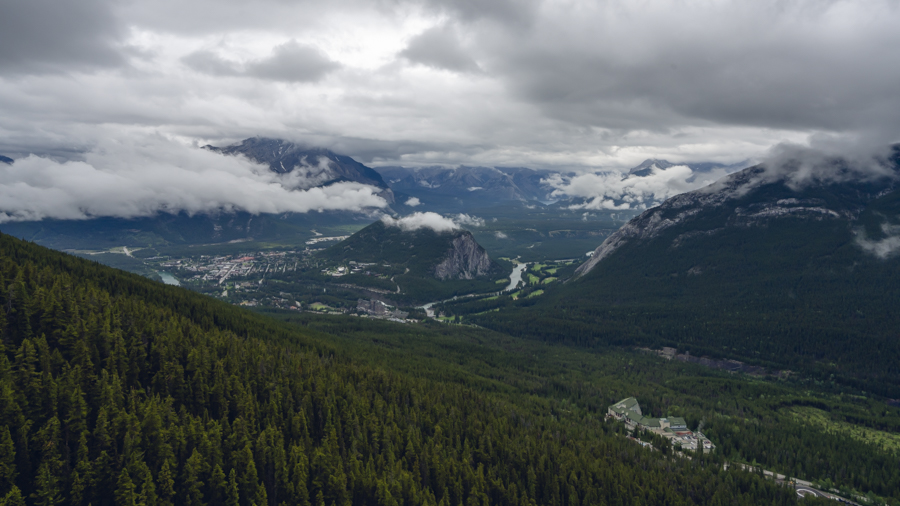Banff Gondola View