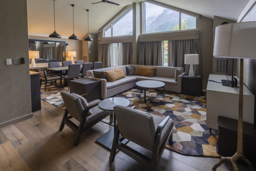 Suite at Kananaskis Mountain Lodge