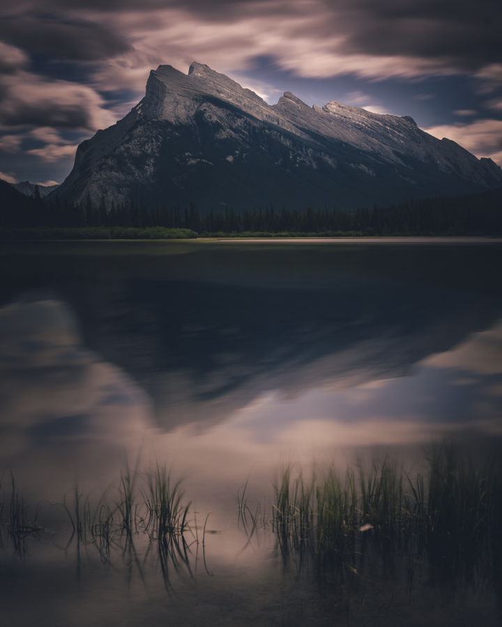 Vermillion Lakes in Banff