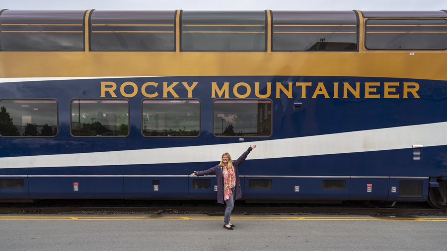 Rocky Mountaineer Start in Vancouver