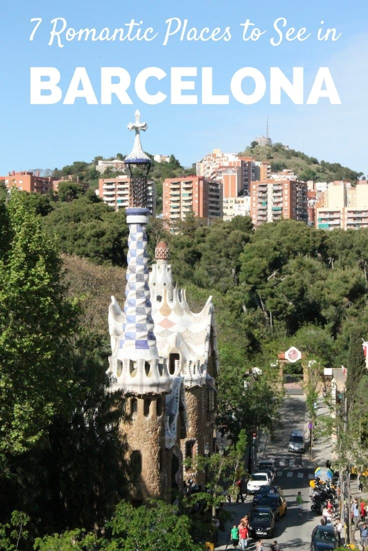Romantic Places to See in Barcelona