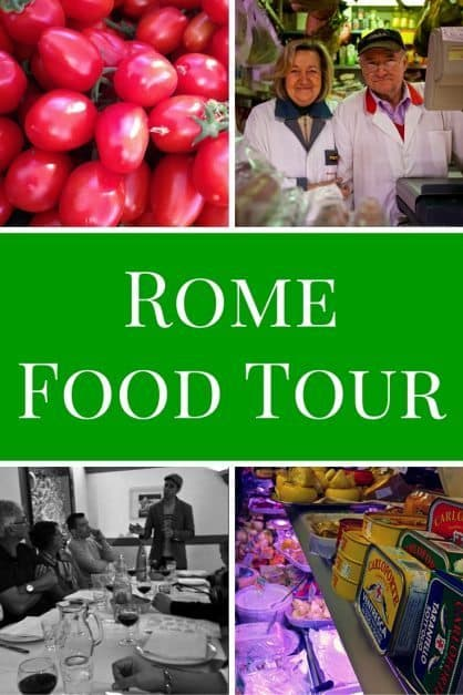 Rome Food Tour, Our First Culinary Journey