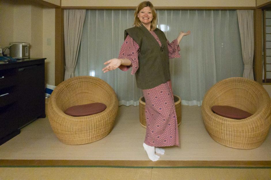 Royokan Japanese Yukata