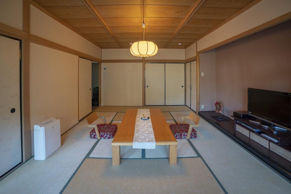 Japanese Ryokan traditional room