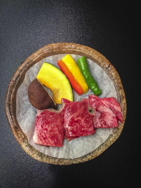 Ryokan Dinner Japanese Beef