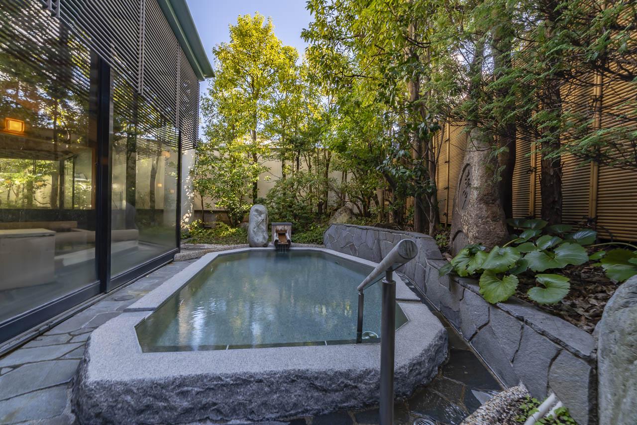 Ryokan Japanese Onsen Hot tub