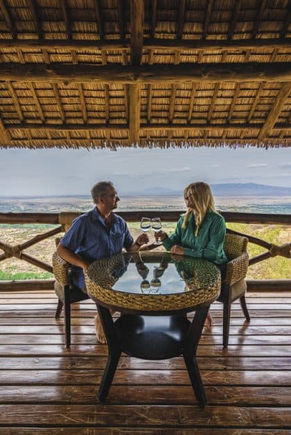 tanzania safari overlooking the rift valley