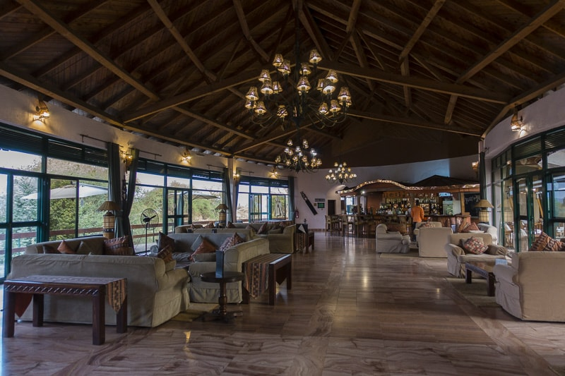 Sopa Lodge in Tarangire National Park