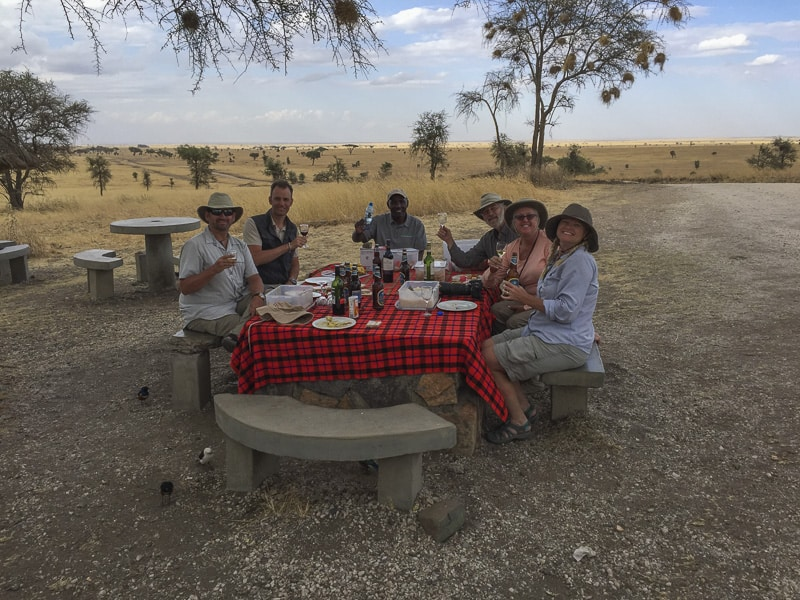 Lunch on the Serengeti