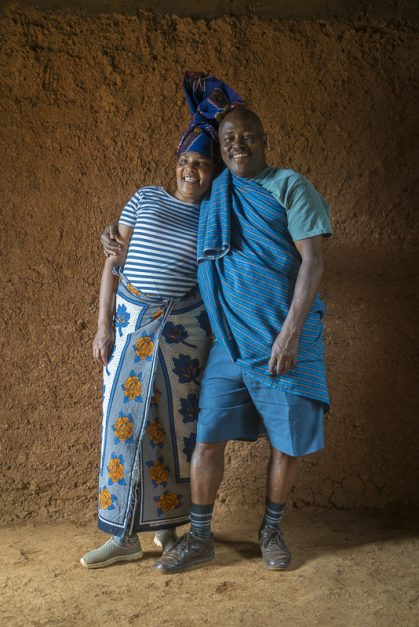 tanzania safari chief and wife