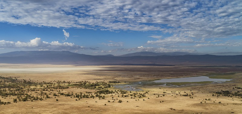 Ngorogoro Crater in Tanzania
