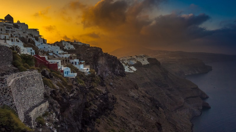 Imerovigli Sunrise Santorini Photography
