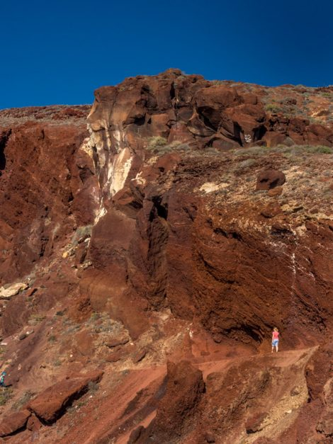 Red Beach Santorini Photography Guide