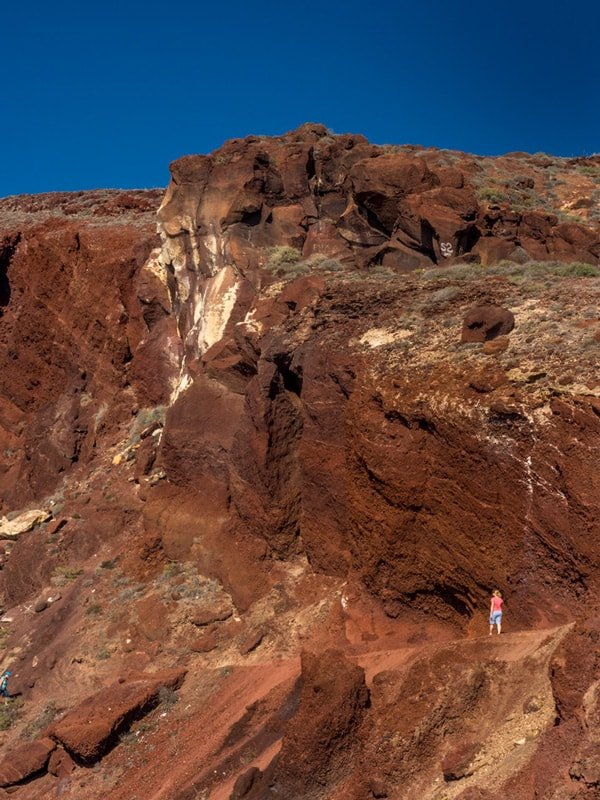 Red Beach Santorini Photography Guide