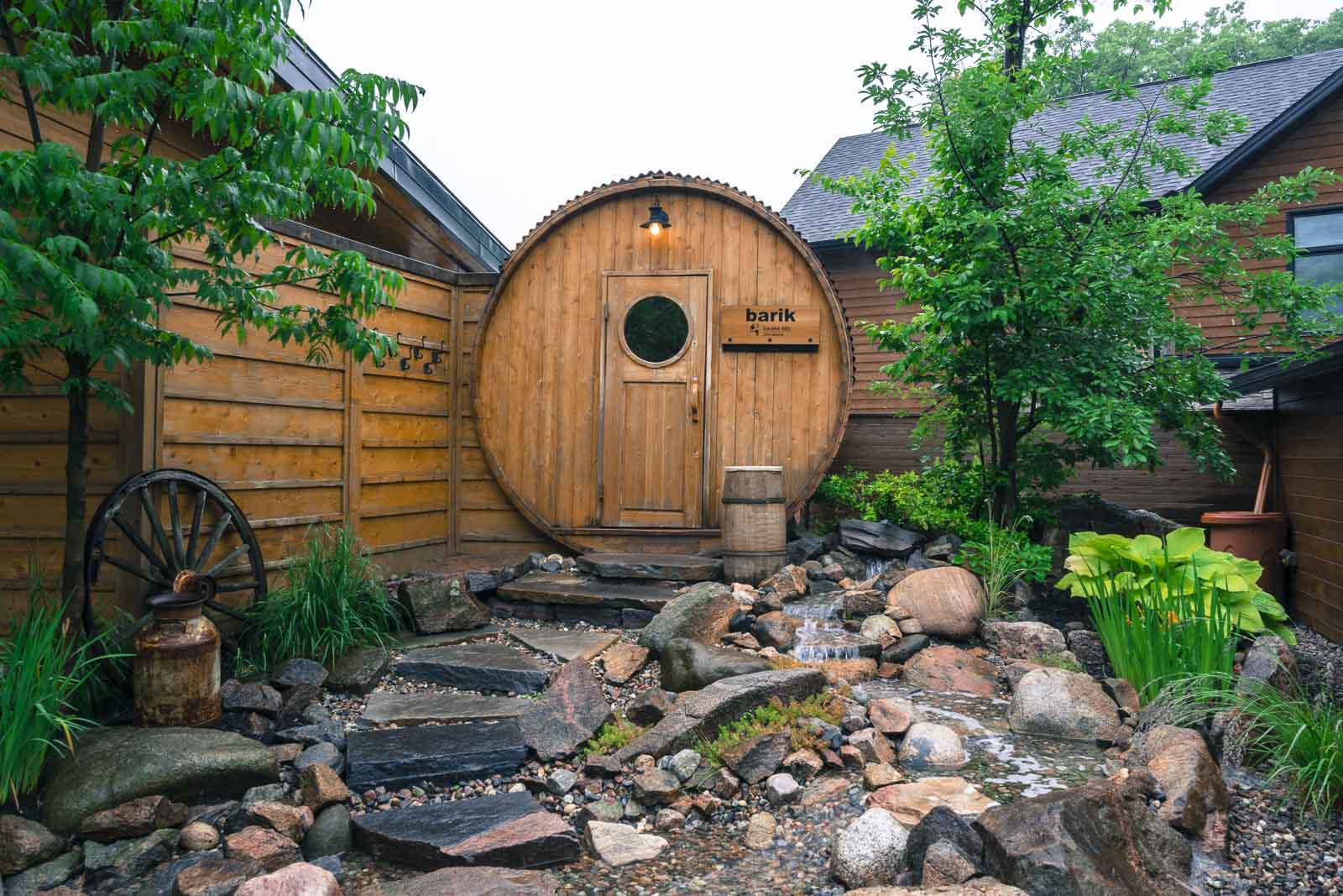 The Scandinave Spa in Quebec City