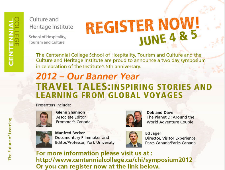 travel tales symposium