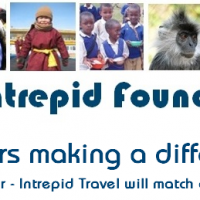inspirational travel charity on the road