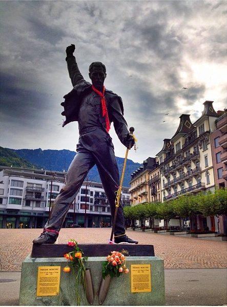 freddie Mercury tribute in Montreux