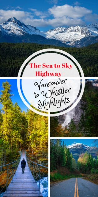 Seat to Sky Highway Vancouver to Whistler