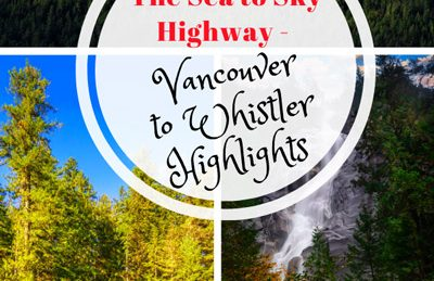sea to sky highway from vancouver to whistler
