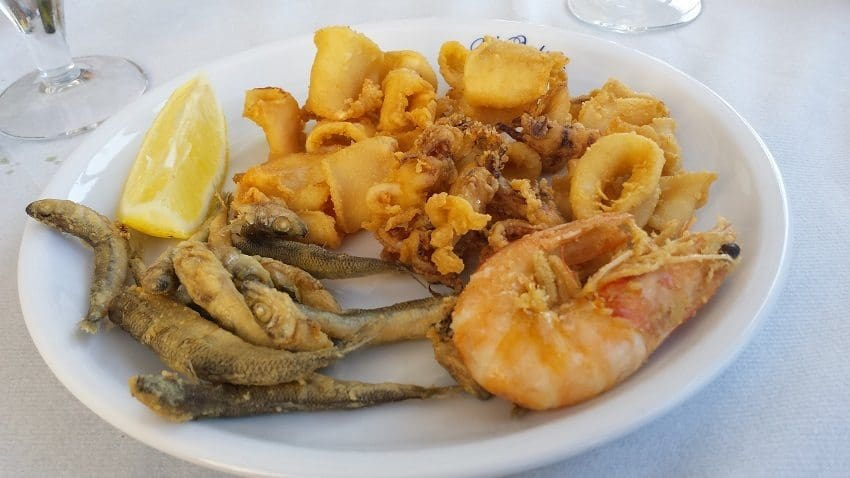 Seafood Italy