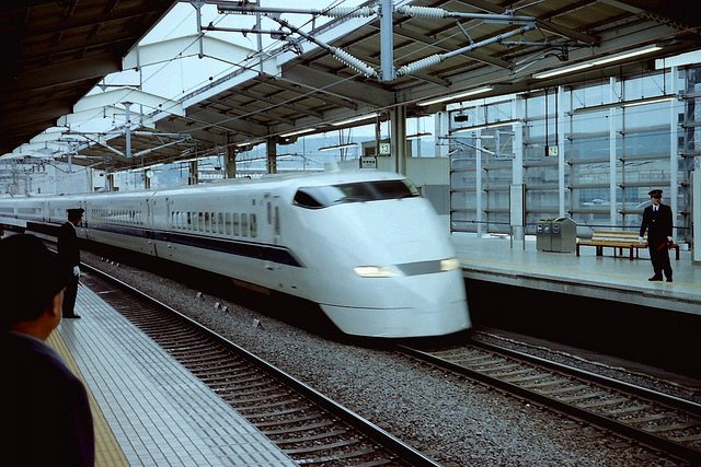 Shinkansen_bullet_train_Japan