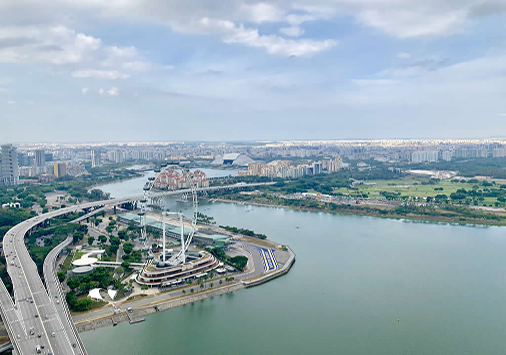 Singapore Flyer View 3 days in Singapore what to do