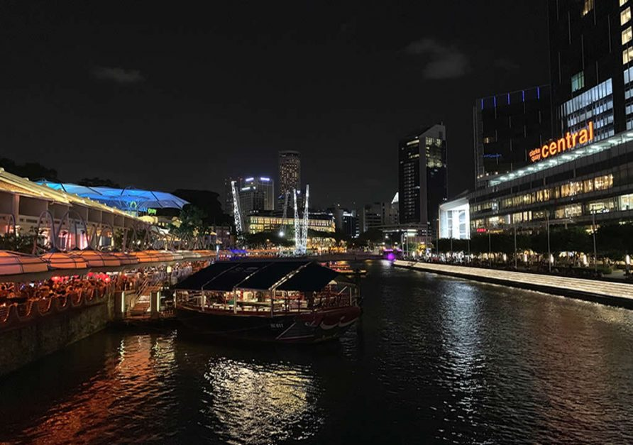 Visit Clarke Quay on your 3 Days in Singapore