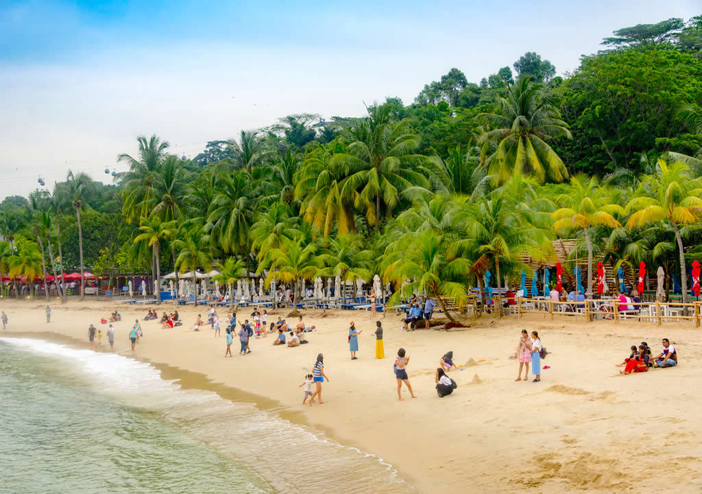 Palawan Beach on Day 2 of your 3 Days in Singapore itinerary