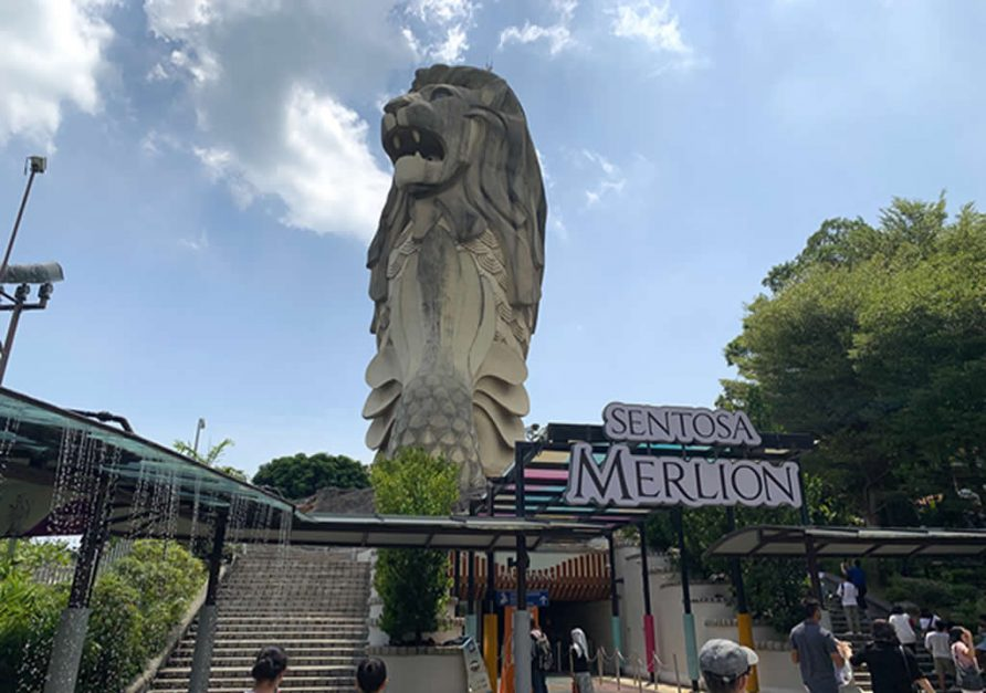 The Sentosa Merlion Singapore