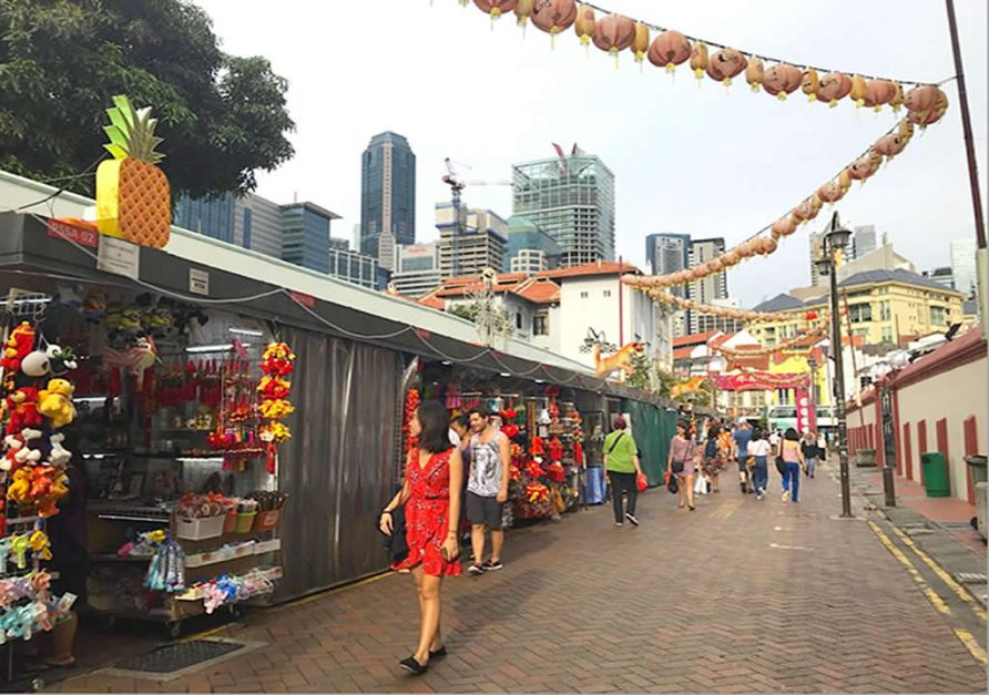 Shopping in Chinatown included in the Best Places to Visit in Singapore in three days