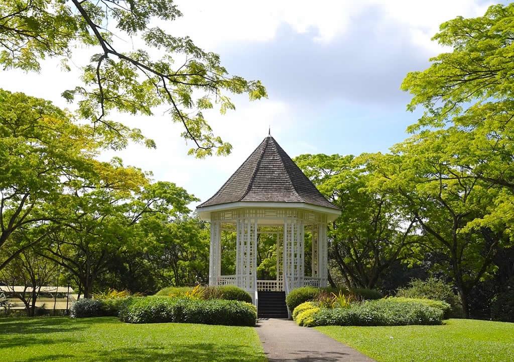 Singapore Botanic Gardens three day itinerary